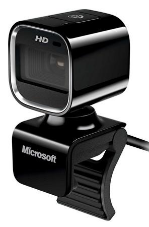 Microsoft LifeCam HD-6000 720p HD Webcam