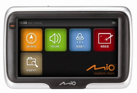 Mio S400 Portable GPS Device
