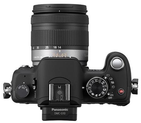 Panasonic Lumix DMC-G10 Micro Four Thirds Camera top