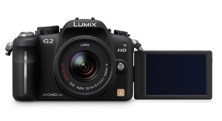 Panasonic Lumix DMC-G2 Micro Four Thirds Camera front