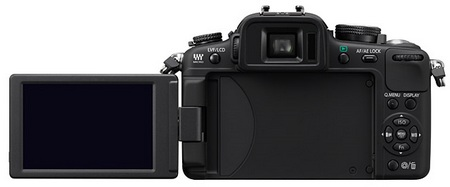Panasonic Lumix DMC-G2 Micro Four Thirds Camera swivel screen
