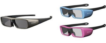 Sony Active Shutter TDG-BR100 and TDG-BR50 3D TV Glasses