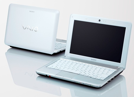 Sony VAIO M series Mini Notebook white