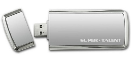 Super Talent SuperCrypt Encrypted USB 3.0 Flash Drive