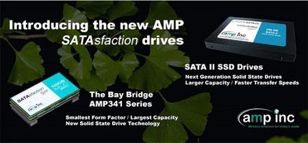 AMP SATAsfaction Series SATA II SSDs