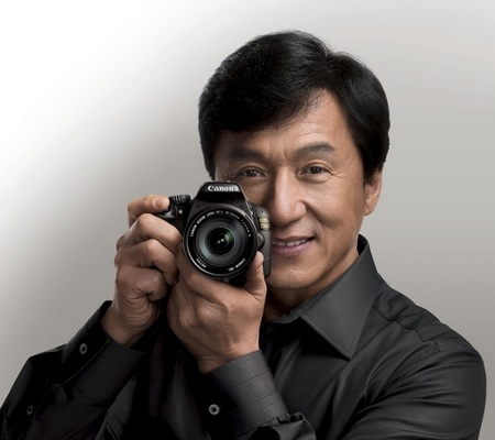 Canon EOS 550D DSLR Jackie Chan Eye of Dragon Edition jackie