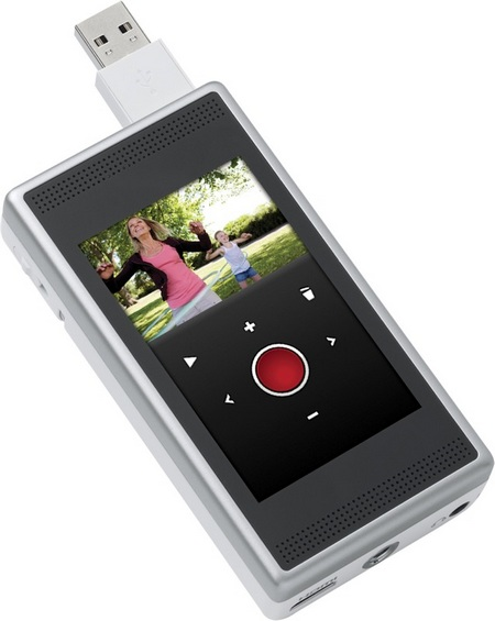 Cisco Flip SlideHD 720p Camcorder closed