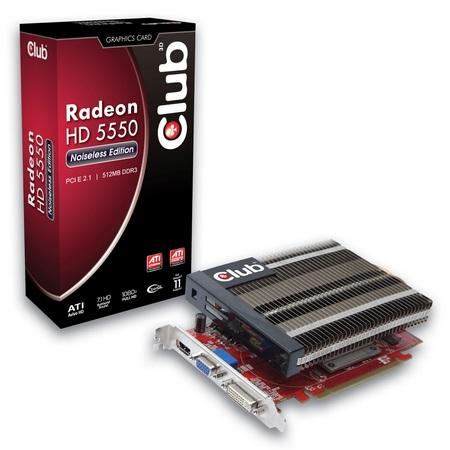 Club 3D Radeon HD5550 Noiseless Edition