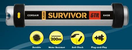 Corsair Flash Survivor GTR Rugged USB Flash Drive