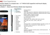 Dell Lightning QWERTY Slider with Windows Phone 7 details