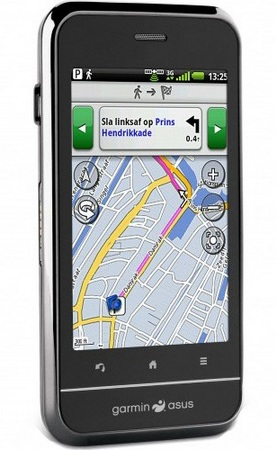 Garmin-Asus A10 Android Smartphone with Garmin Navigation