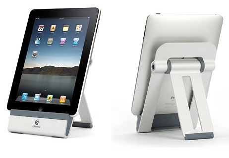 Griffin A-Frame iPad Tabletop Stand portrait