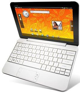 HP Compaq AirLife 100 Android Netbook Specs