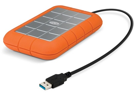 LaCie Rugged USB 3.0 Hard Drive