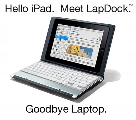 LapDock turns your iPad to Laptop