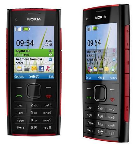 Nokia X2 Candybar Music Phone Black