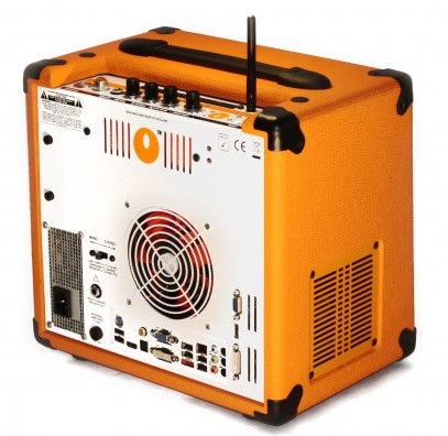 Orange Amplifier OPC Computer Amplifier Speaker angle