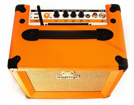 Orange Amplifier OPC Computer Amplifier Speaker