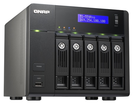 QNAP TS-559 Pro Turbo NAS for Business