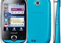 Samsung Lindy M5650U Touchscreen Phone for Music Lovers