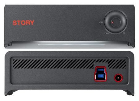 Samsung STORY Station 3.0 External Hard Drive.
