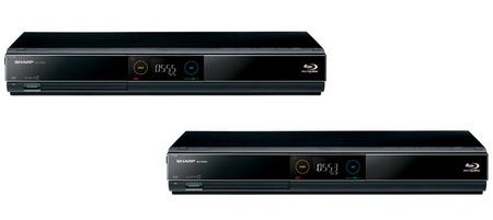Sharp AQUOS BD-HDS55 and BD-HDS53 Blu-ray Recorders with built-in HDD