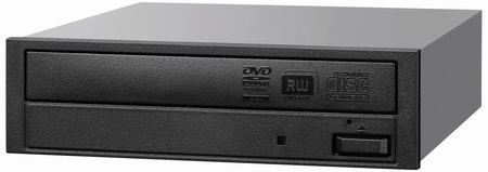 Sony AD-7260S Half-height Internal 24X DVD Writer black