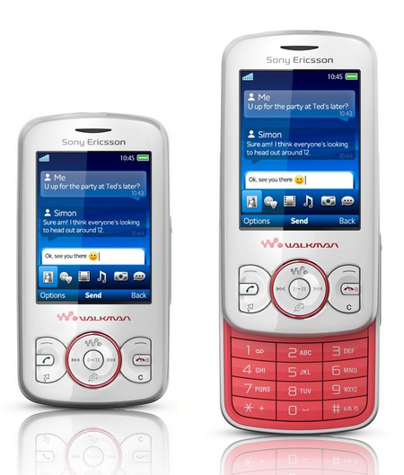 Sony Ericsson Spiro Walkman Phone pink