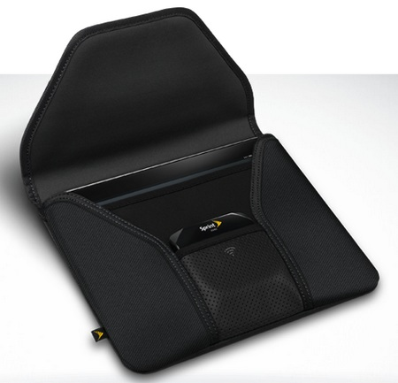 Sprint 4G iPad Folio Case with a Pocket for OverDrive 1