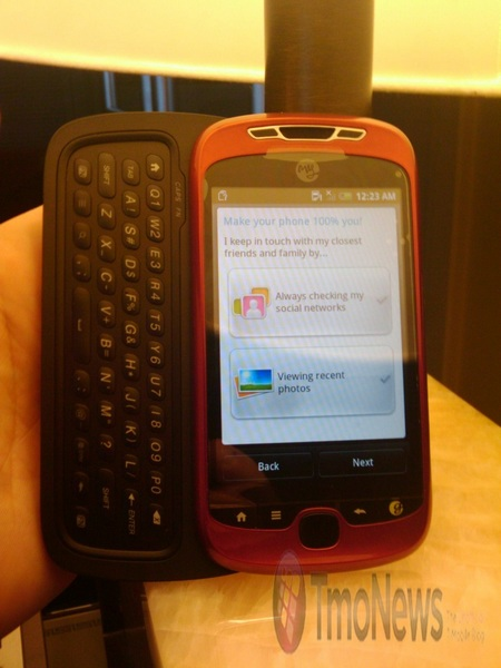 T-Mobile MyTouch Slider Spotted Again