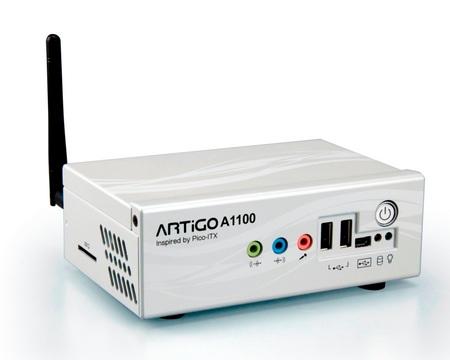 VIA ARTiGO A1100 DIY Nettop Kit with WiFi