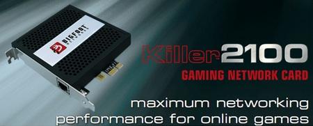 BigFoot Killer 2100 Gaming Network Card