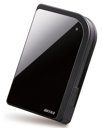Buffalo MiniStation Metro HD-PXTU2 Portable Hard Drive with 256 Bit AES hardware encryption