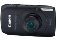 Canon PowerShot SD4000 IS Digital Camera with the HS System black
