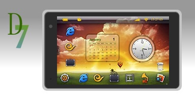 Dawa D7 Tablet with Android