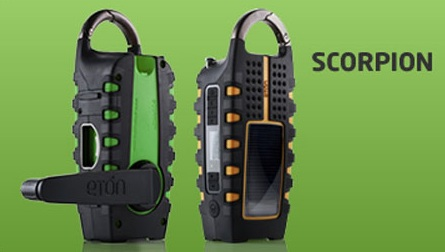Eton Scorpion Solar-powered Multi-purpose Device