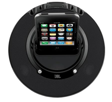 JBL On Stage Micro II iPod iPhone Speaker Dock top view