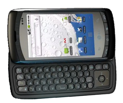 LG Ally QWERTY Smartphone runs Android 2.1 1