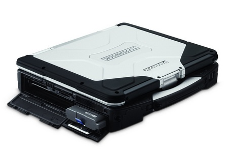 Panasonic Toughbook CF-31 Fully-Rugged Notebook closed