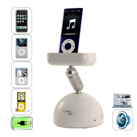 Resonance Speaker with iPod iPhone dock