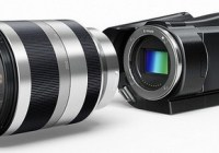 Sony AVCHD Camcorder with interchangeable lens system
