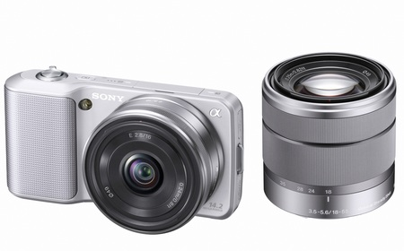 Sony NEX-3 Ultra-Compact DSLR with interchangeable lenses