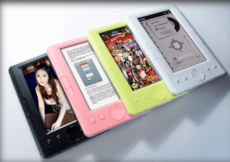 Teclast K5 Color E-book Reader colors