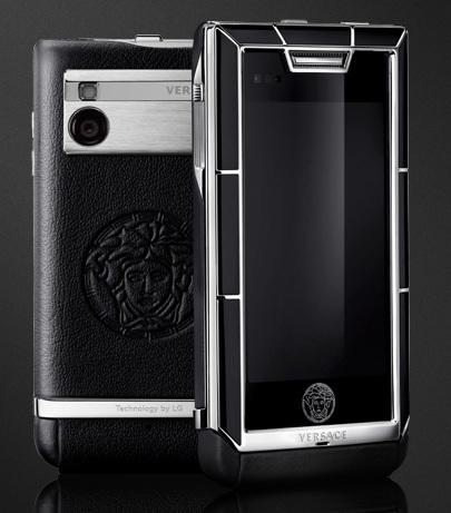 Versace Unique Luxury Phone black