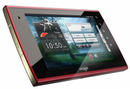 aigo N700 gets Tegra 2 and Android