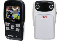 Aiptek DDD11X 3D-HD 720p Camcorder