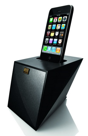 Altec Lansing Octiv Mini M102 iPod iPhone Speaker Dock with iphone