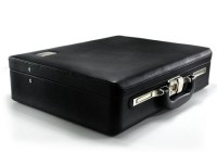 Biometric Briefcase with Fingerprint Scanner
