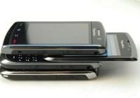 Blackberry Bold 9800 Slider Clear Shots side