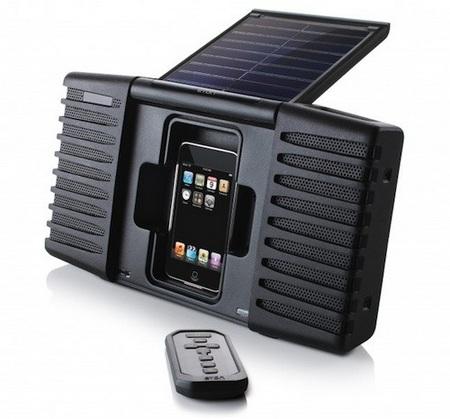 Eton Soulra Solar-powered iPod Sound System